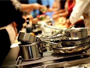 Cours de cuisine et d'oenologie