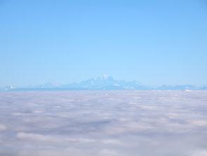 Vue incroyable sur le Mont-Blanc